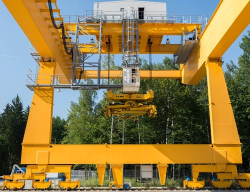 Third RMG crane (for container handling) of 41 ton capacity was installed in Poland
