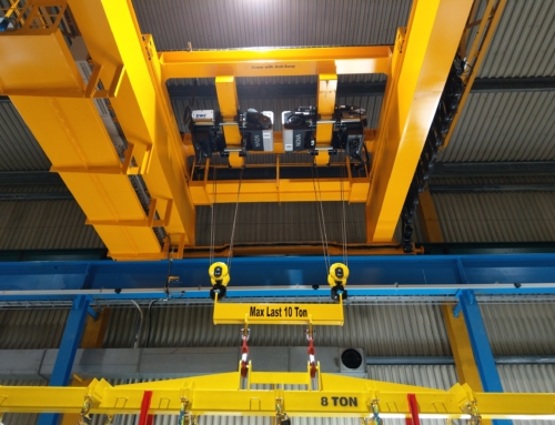 Supply of 15-ton crane to Sweden